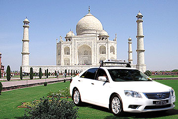 Same Day Trip Taj Mahal By Cab